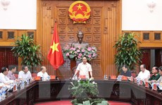 Thủ tướng Chính phủ Nguyễn Xuân Phúc làm việc với tỉnh Bình Thuận