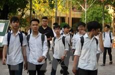 Kỳ thi vào lớp 10 ở Hà Nội: Đề thi môn Toán tiếp tục bị lọt ra ngoài