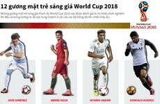 """[Infographics] """"Điểm danh"""" 12 gương mặt sáng giá tại World Cup 2018"""