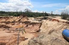 Khai thác titan tại Bình Thuận: Nhiều bất cập, chưa có hiệu quả cao