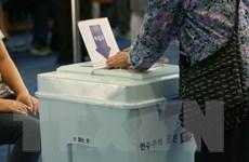 Bầu cử tại Hàn Quốc: Đảng Dân chủ cầm quyền chiếm ưu thế áp đảo