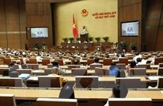 Các đại biểu Quốc hội thảo luận về dự án Luật Chăn nuôi