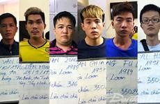 Tạm giữ nhóm đối tượng người Trung Quốc lừa đảo hàng tỷ đồng
