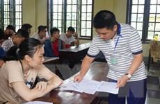 Kịp thời sửa chữa sai sót về thủ tục cho thí sinh thi THPT Quốc gia