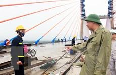 Cầu Bạch Đằng sẽ được bàn giao, đưa vào sử dụng trong tháng Tám