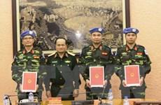 """Chuyện về sỹ quan Việt gìn giữ hòa bình tại """"chảo lửa"""" Trung Phi"""