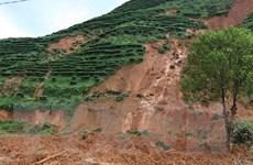 Lai Châu: Sạt lở sườn núi vùi lấp 24 ngôi nhà của bản Sáng Tùng
