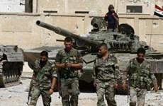 Khoảng 1.000 người ở tỉnh Daraa đầu hàng quân chính phủ Syria