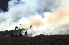 Cháy rừng nghiêm trọng tại Anh, nhiều trường học phải đóng cửa