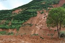 Khắc phục hậu quả mưa lũ, sạt lở đất tại miền núi và trung du Bắc Bộ