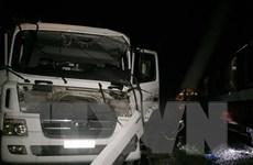 Xe bồn chở gas va chạm với tàu hỏa làm 4 người bị thương