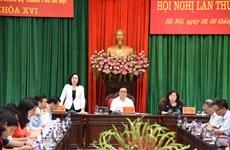 Khai mạc Hội nghị lần thứ 14 Ban Chấp hành Đảng bộ thành phố Hà Nội