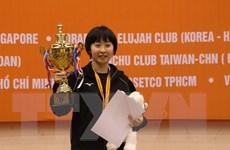 Nhật Bản vô địch toàn đoàn giải bóng bàn Cây vợt vàng mở rộng
