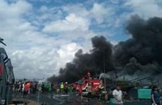 Cháy lớn tại cảng trên đảo Bali, hàng chục tàu thuyền bị thiêu rụi