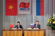 Việt Nam và Liên bang Nga tăng cường hợp tác trong lĩnh vực dầu khí