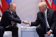 """Tổng thống Mỹ Trump coi nhà lãnh đạo Nga Putin là """"đối thủ cạnh tranh"""""""
