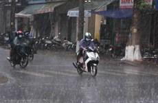 Khu vực Bắc Bộ và Bắc Trung Bộ có mưa to, nhiệt độ giảm nhẹ