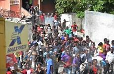 Liên hợp quốc quan ngại biểu tình biến thành bạo loạn tại Haiti