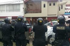 Một thẩm phán cấp cao của Peru bị bắt vì dính đến bê bối