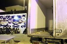 Libya phát hiện nhiều người di cư chết ngạt trong xe tải đông lạnh