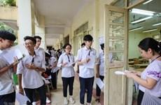 Lai Châu không phát hiện bất thường trong kỳ thi THPT Quốc gia