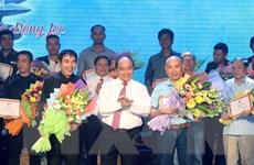 """Thủ tướng Nguyễn Xuân Phúc dự Chương trình """"Những đóa hoa bất tử"""""""