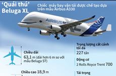 [Infographics] Những thông số kỹ thuật của 'quái thú' Beluga XL