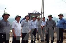 Kiểm tra công tác phòng chống thiên tai tại tỉnh Hòa Bình