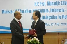 Việt Nam tăng hợp tác với tổ chức Bộ trưởng Giáo dục Đông Nam Á