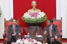 Ủy ban Kiểm tra Trung ương Việt Nam và Lào tăng cường hợp tác