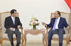 Thủ tướng tiếp Chủ tịch Liên minh Nghị sỹ Hữu nghị Nhật Bản-Mekong