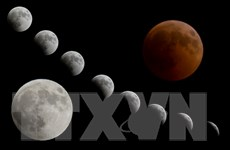 """Người dân khắp thế giới được chiêm ngưỡng """"trăng máu"""" dài nhất thế kỷ"""