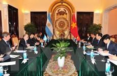 Bộ trưởng Ngoại giao và Tôn giáo Argentina thăm chính thức Việt Nam