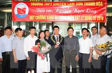 Bí quyết giành huy chương vàng Olympic Vật lý của chàng trai xứ Thanh