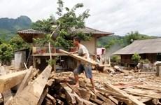 Hỗ trợ người dân Yên Bái vượt qua khó khăn sau đợt mưa lũ