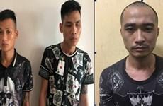 Bắt ổ nhóm gây ra trên 20 vụ cướp tại một số tuyến đường ở Hà Nội