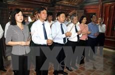 Lãnh đạo tỉnh Bắc Ninh dâng hương tưởng niệm đồng chí Lê Quang Đạo