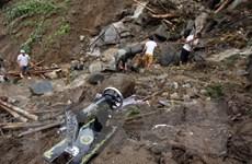 Huy động lực lượng tìm kiếm người mất tích do lũ quét, sạt lở đất