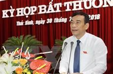 Thủ tướng Chính phủ phê chuẩn nhân sự tỉnh Thái Bình, Bạc Liêu