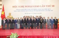 Đẩy mạnh ba trụ cột quan trọng của ngành ngoại giao Việt Nam