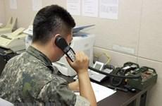 Hàn Quốc-Triều Tiên khôi phục đường dây liên lạc quân sự phía Đông