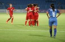 ASIAD 2018: Hạ Thái Lan 3-2, tuyển nữ Việt Nam đoạt vé tứ kết