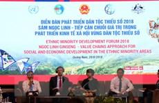 Hỗ trợ phát triển bền vững vùng đồng bào dân tộc thiểu số