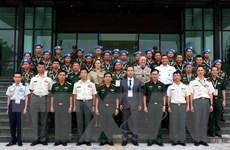 Nhật Bản trao đổi chuyên môn gìn giữ hòa bình LHQ với Việt Nam