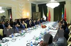 Chủ tịch nước Trần Đại Quang hội đàm với Tổng thống Ethiopia