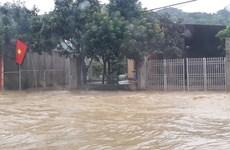 Thủy điện xả lũ, nhiều khu vực của tỉnh Nghệ An ngập lụt nặng