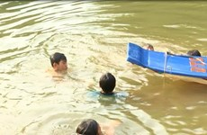 Quảng Ngãi: Rủ nhau đi tắm sông, 4 học sinh đuối nước thương tâm