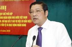 Ông Phan Đình Trạc: Cần chú trọng công tác thu hồi tài sản tham nhũng