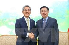 Tập đoàn Tài chính Kookmin Hàn Quốc muốn mở rộng hợp tác tại Việt Nam