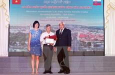 Họp mặt kỷ niệm 26 năm ngày Quốc khánh Cộng hòa Slovakia